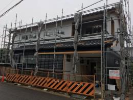 愛知県春日井市の新築工事現場