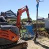 関市で住宅新築工事の地盤改良工事を行っております