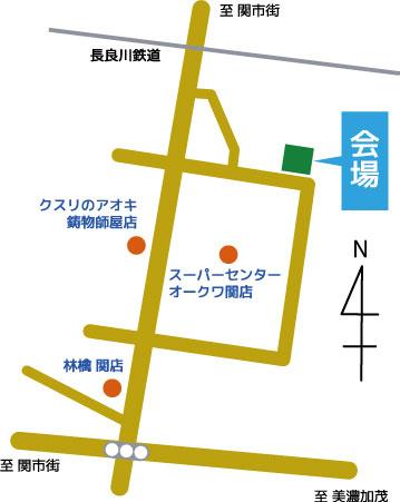 戸建賃貸住宅カシータ笠屋内覧会地図