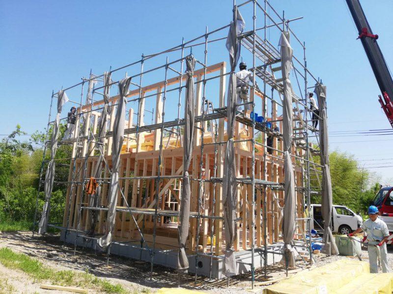 愛知県小牧市住宅新築工事