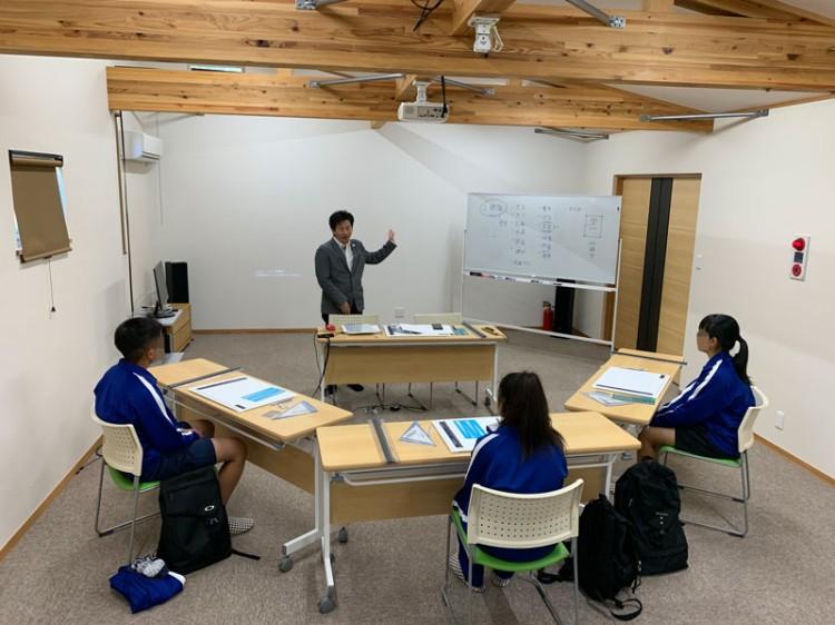 中学生が職場体験学習にきてくれました