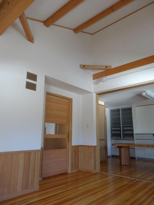伝統的な間取りに現代的な使い良さを加えた家