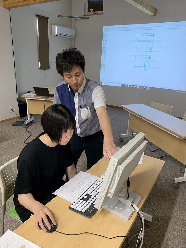 高校生のための建築塾:CAD