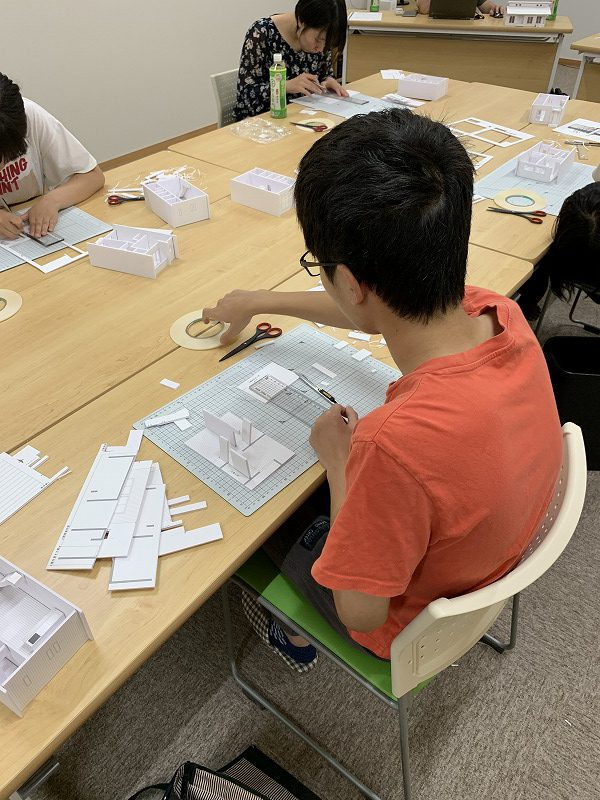 高校生のための建築塾:模型