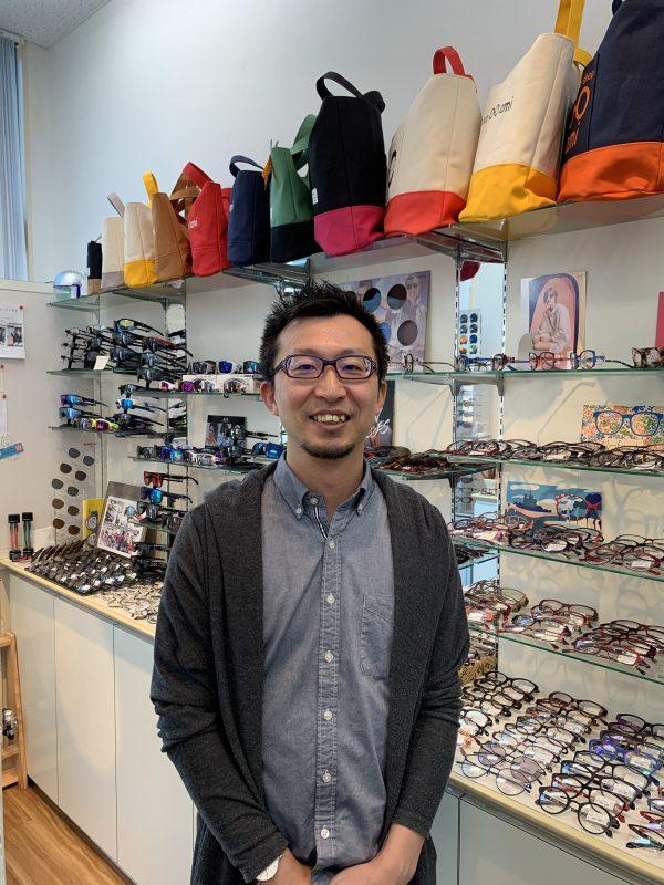 Eyewear shop ami 関市 眼鏡店 古田貴志